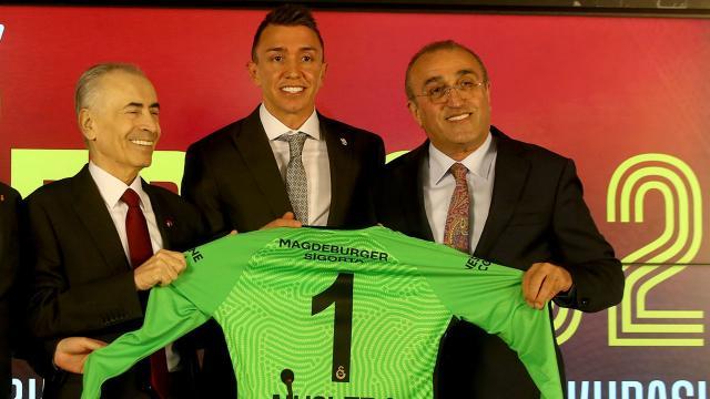 Galatasaray Fernando Musleranın sözleşmesini uzattı