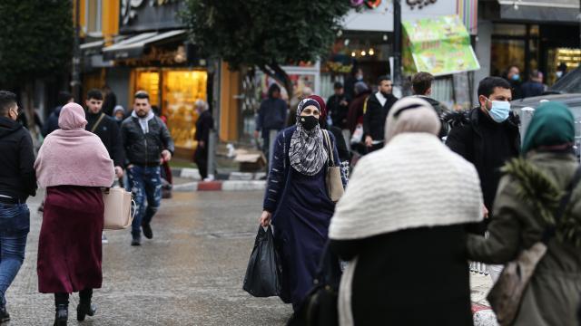 Filistinde vaka sayısı 250 bini aştı