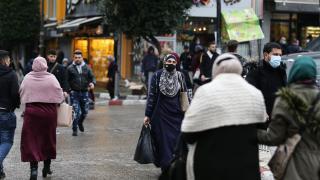 Filistin'de günlük vaka sayısı 1000'in altına düştü
