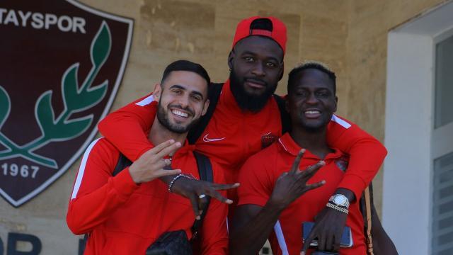 Hataysporda 5 yabancı futbolcuya milli davet