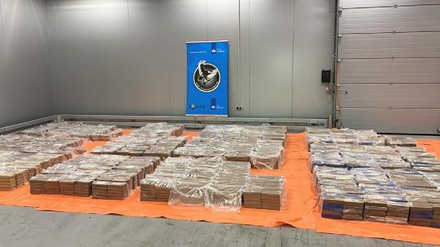 Rotterdam Limanında 4 ton kokain ele geçirildi