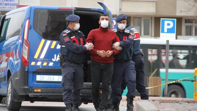 Kayseride terör operasyonunda Suriye uyruklu şüpheli gözaltına alındı