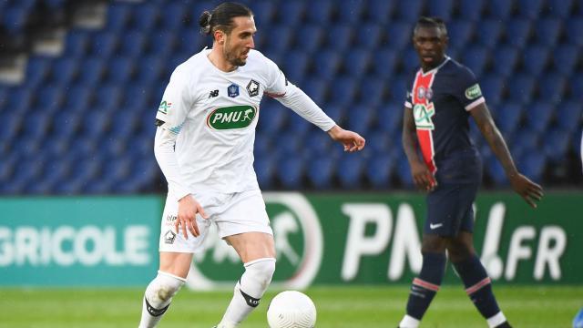 PSGye yenilen Lille Fransa Kupasına veda etti