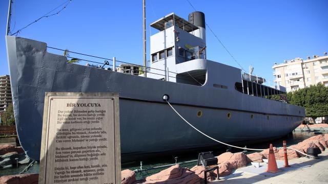 Çanakkale destanının simgelerinden Nusret Mayın Gemisi tarihe ışık tutuyor