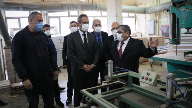 Meslek liseleri bu yıl 1 milyar lira üretim geliri hedefliyor