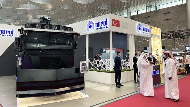 Milimol Qatarda Türk firmaları göz kamaştırdı
