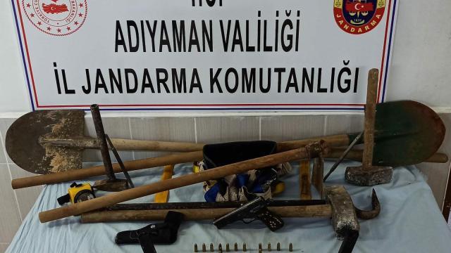 SİT alanında kaçak kazı yapanlara suçüstü: 7 kişi yakalandı