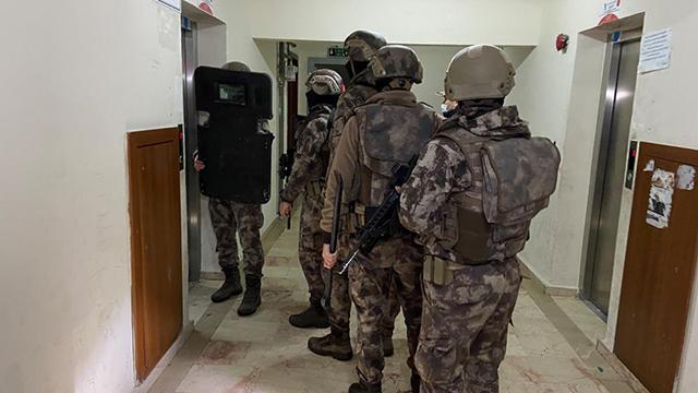 İstanbulda 11 ilçede DEAŞ operasyonu