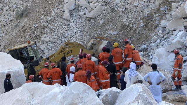 Pakistanda maden ocağında patlama: 7 ölü