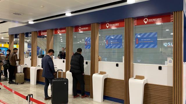 İstanbul Sabiha Gökçen Uluslararası Havalimanında ayda ortalama 20 bin PCR testi yapılıyor