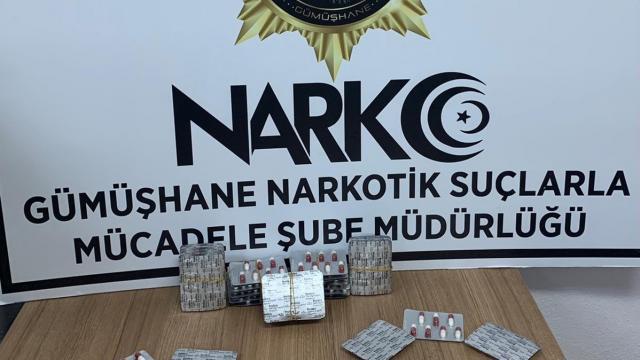 Gümüşhanede uyuşturucu operasyonu: 4 gözaltı