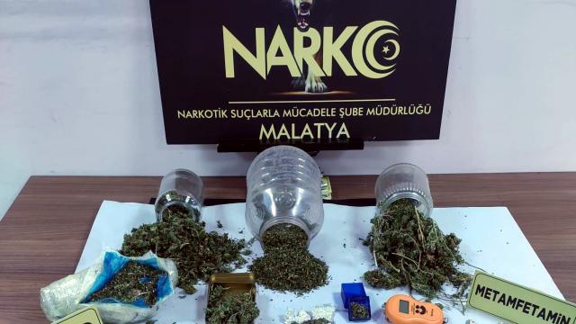 Malatyada uyuşturucu operasyonu: 2 tutuklama