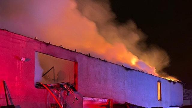 Bursada mobilya fabrikasında yangın: 2 milyonluk zarar oluştu