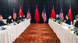Alaska'da ABD ile Çin heyetleri arasında atışma