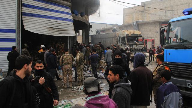 Babda bombalı terör saldırısı: 1 ölü, 2 yaralı