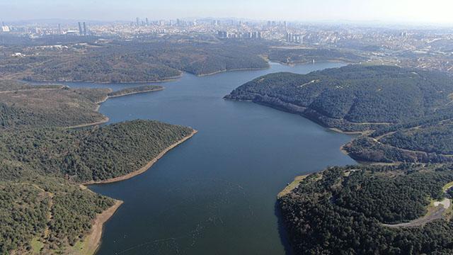 İstanbulun barajlarındaki doluluk oranı yüzde 71,96ya yükseldi