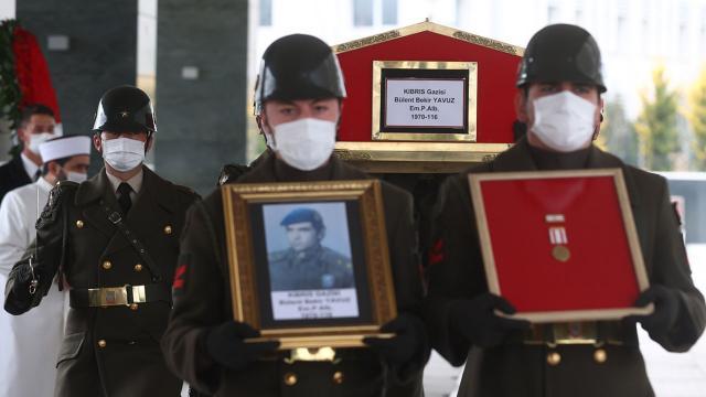 Eski MHK Başkanı Bülent Yavuz askeri törenle defnedildi