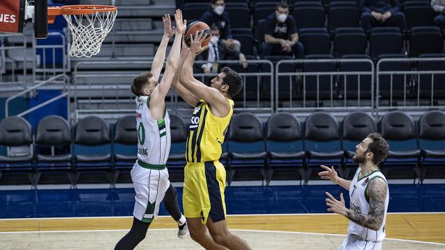 Fenerbahçe Beko, THY Avrupa Liginde 23 sayı farkla kazandı