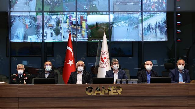 İçişleri Bakanlığı, Nevruz etkinlikleri ve salgın tedbirleri denetimlerini değerlendirildi