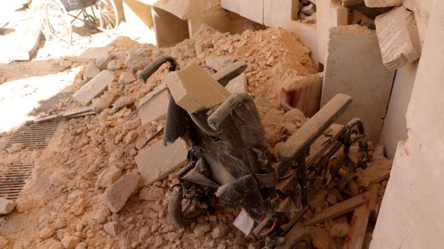 Esed rejimi hastaneyi hedef aldı: 6 ölü, 15 yaralı