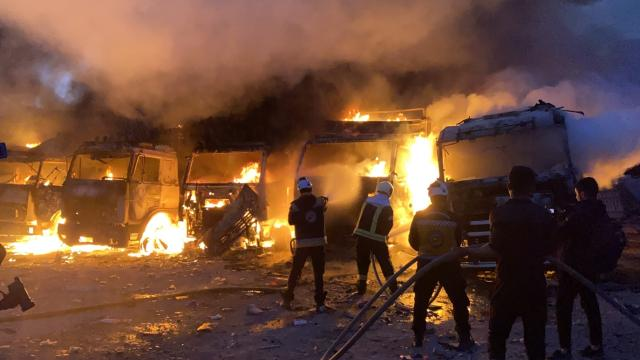 Suriye'de saldırı: 15 sivil öldü