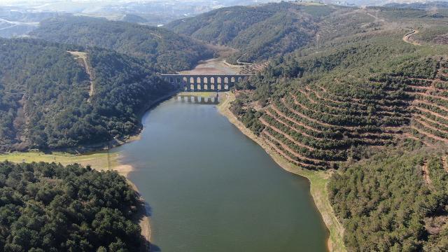 İstanbulun barajlarındaki doluluk oranı yüzde 74,70e yükseldi