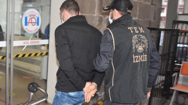 İzmirde terör örgütü PKK/KCK operasyonu: 7 gözaltı