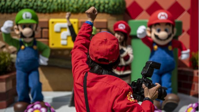 Japonyada Süper Mario temalı park açıldı