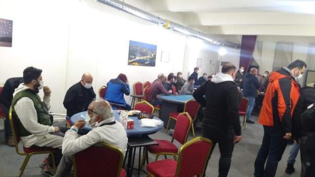 Denizlide otele kumar baskını: 23 kişiye ceza