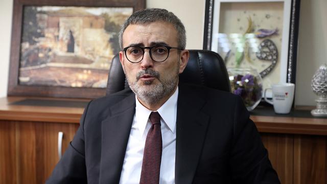 Mahir Ünal: HDPnin kapatılıp kapatılmayacağının cevabını yargı verecek