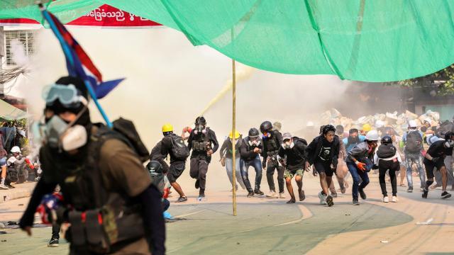 Myanmardaki misyon başkanlarından şiddete son verin çağrısı