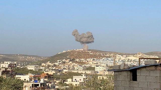 Esed rejimi sivilleri hedef aldı: 7 yaralı