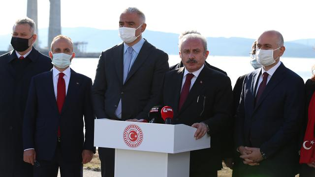 TBMM Başkanı Şentop: Anayasamızda parti kapatma var, ilk defa karşılaşmıyoruz