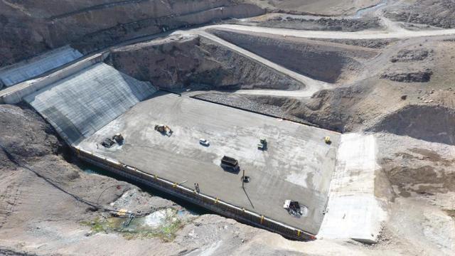 Yozgat İnandık Barajı 28 bin 750 dekar araziyi sulayacak