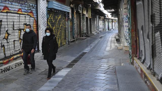 Yunanistanda kısıtlamalar gevşetilecek