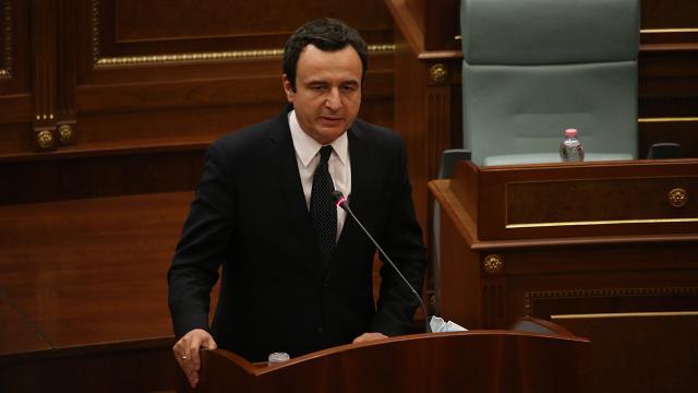 Albin Kurti Kosovanın yeni başbakanı oldu