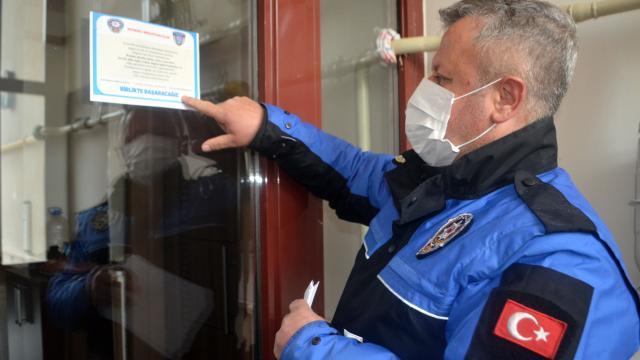 Amasyada ev ziyaretlerini önlemek için vatandaşlar ikametlerinde uyarılıyor