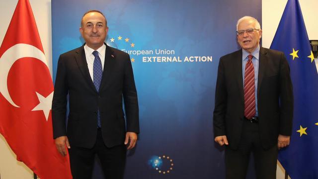 Bakan Çavuşoğlu: Borrell ile birlikte çalışacağız