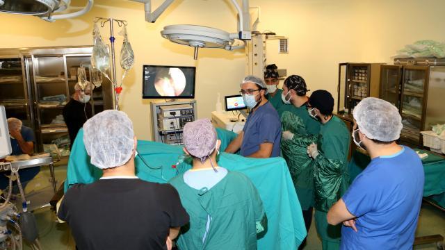 Erzurum Şehir Hastanesinde prostat, kanama ve ağrı olmadan tedavi ediliyor