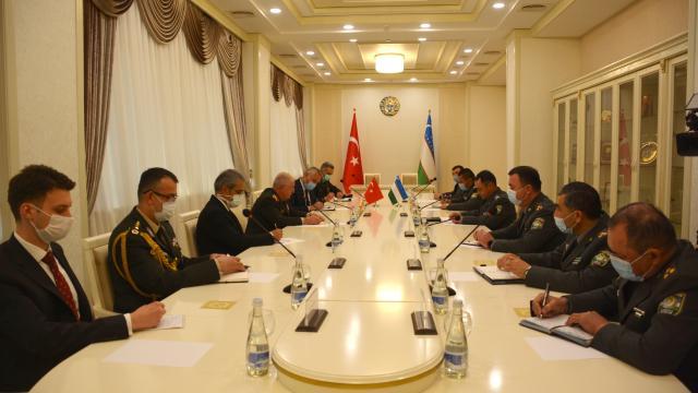 Genelkurmay Başkanı Yaşar Güler, Özbekistan Genelkurmay Başkanı ile bir araya geldi