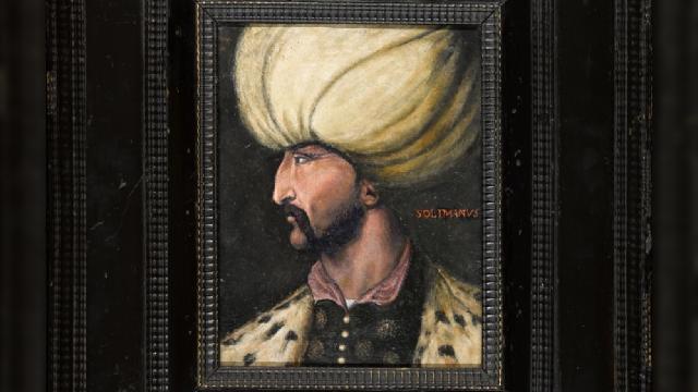 Kanuni Sultan Süleymanın portresi açık artırmada