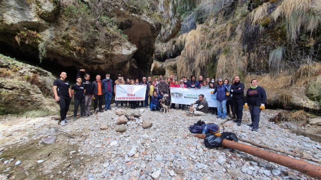 Muğlada Değirmendere Kanyonunun tanıtımı için yürüyüş düzenlendi