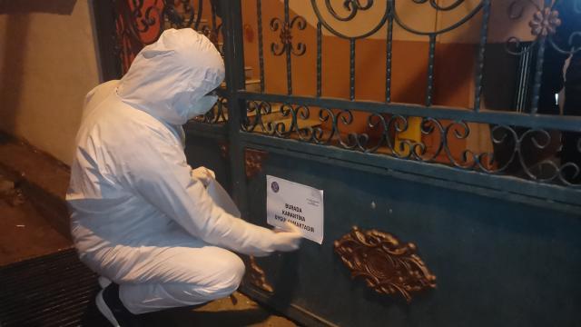 Kocaelinin Darıca ilçesinde 5 bina karantinaya alındı