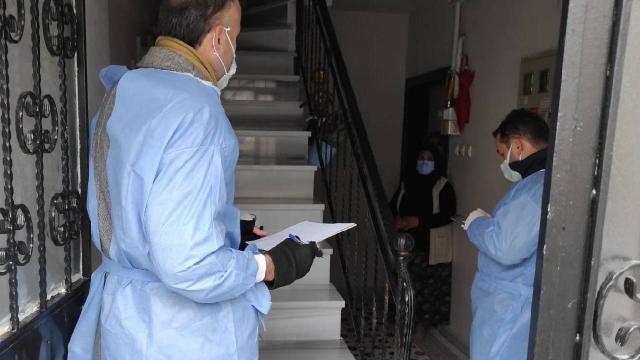 Adıyamanda 75 ev karantinaya alındı