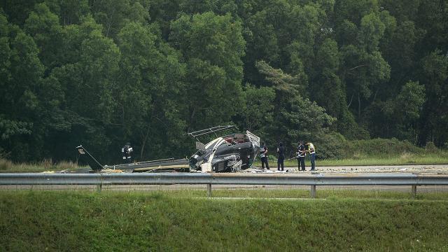 Malezyada helikopter düştü: 5 yaralı