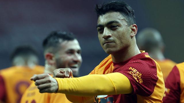 Galatasarayda Mustafa Muhammed sevinci