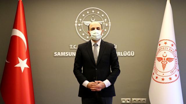 Samsun Sağlık Müdürü Oruç, yoğun bakım doluluk oranında yüzde 70in üzerine çıkıldığını bildirdi