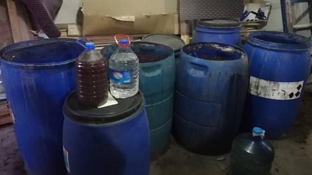 Malatyada 1234 litre sahte içki ele geçirildi
