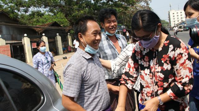 Myanmarda gözaltında tutulan AP muhabiri serbest bırakıldı