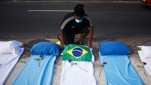 Brezilyada bir günde en yüksek ölüm: 3 bin 650 can kaybı